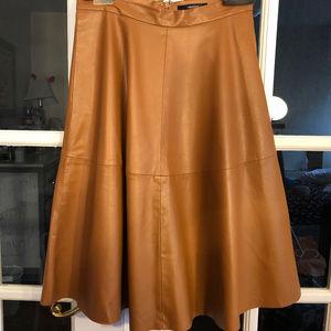 Forever 21 Vegan Midi Skirt